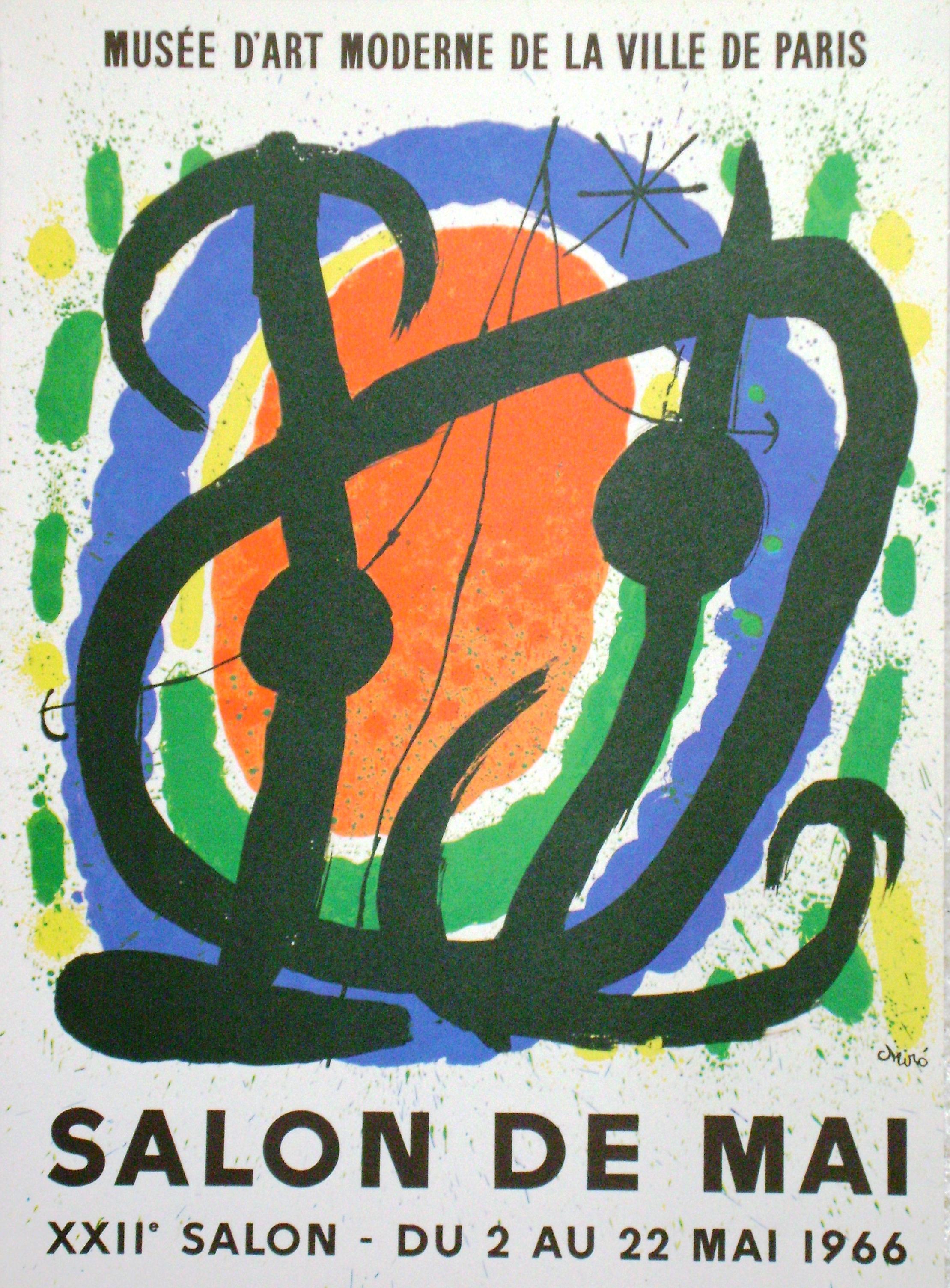 Joan mir salon de mai le cornici forl galleria arte for Salon de mai