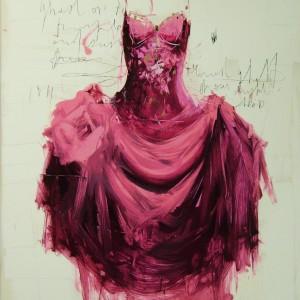 Purple Dress n.58.