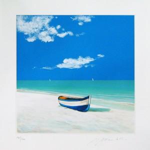 Barca nel blu