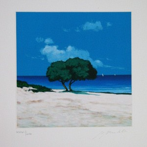 L'albero in riva al mare