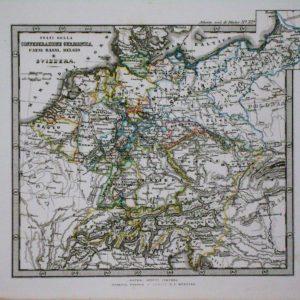 Stati della Confederazione germanica paesi bassi belgio svizzera