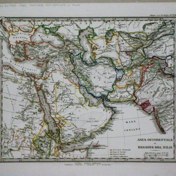 asia occidentale e regione del nilo