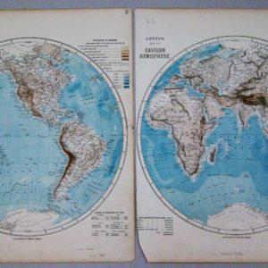 western, eastern hemisphere
