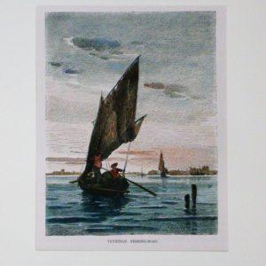 Barca da pesca a Venezia