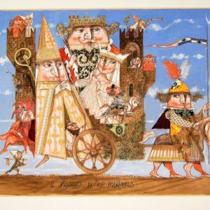il viaggio di re maniero
