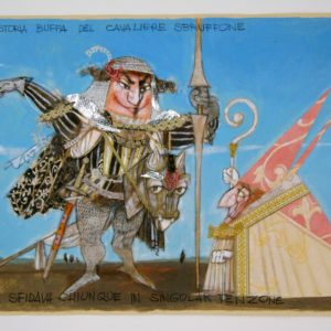 la storia buffa del cavalier sbruffone