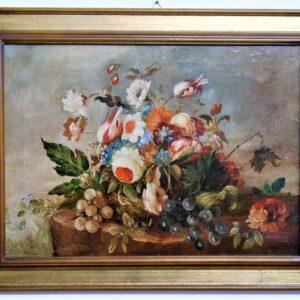 Albonetti fiori con uva 54x39