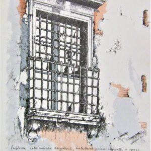 Santarini Duilio finestra di Via Torelli